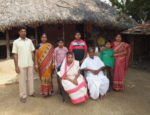Choisir une famille au Bengale Occidental.