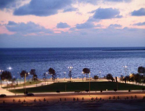 L'arrivée à Baku